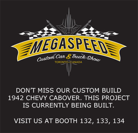 Megaspeed custom car and truck show